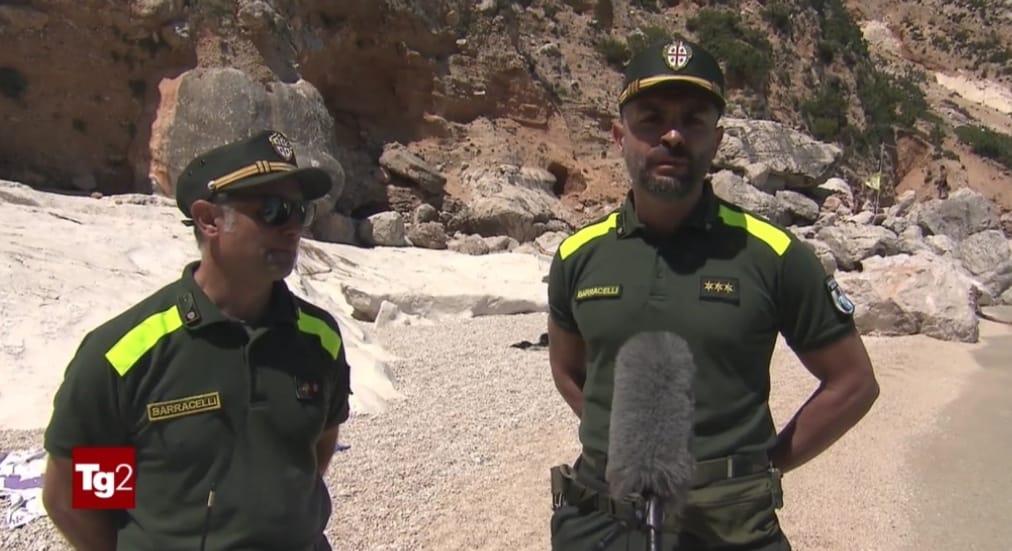 I Barracelli di Baunei intervistati dal Tg2.