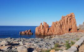Le rocce rosse di Arbatax-Tortolì.
