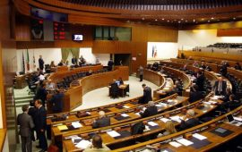 Foto di repertorio del consiglio regionale.