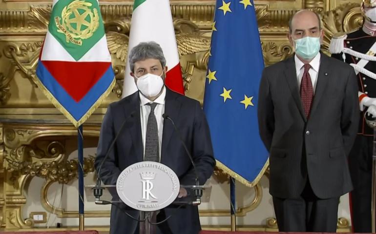 Fico dopo aver incontrato Mattarella: «Al momento attuale nessuna maggioranza»