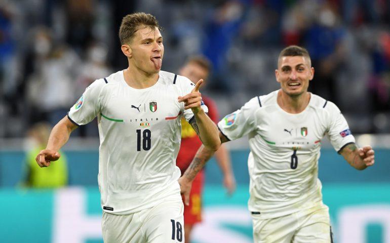 Europeos, s'Itàlia binchet contra su Bèlgiu 2-1. Immoe dda ispetat s'Ispagna in semifinale