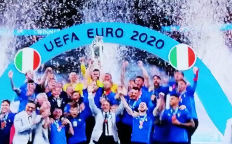 S'Itàlia est Campione de s'Europa: arropada s'Inghilterra a Wembley 4-3 a is rigores