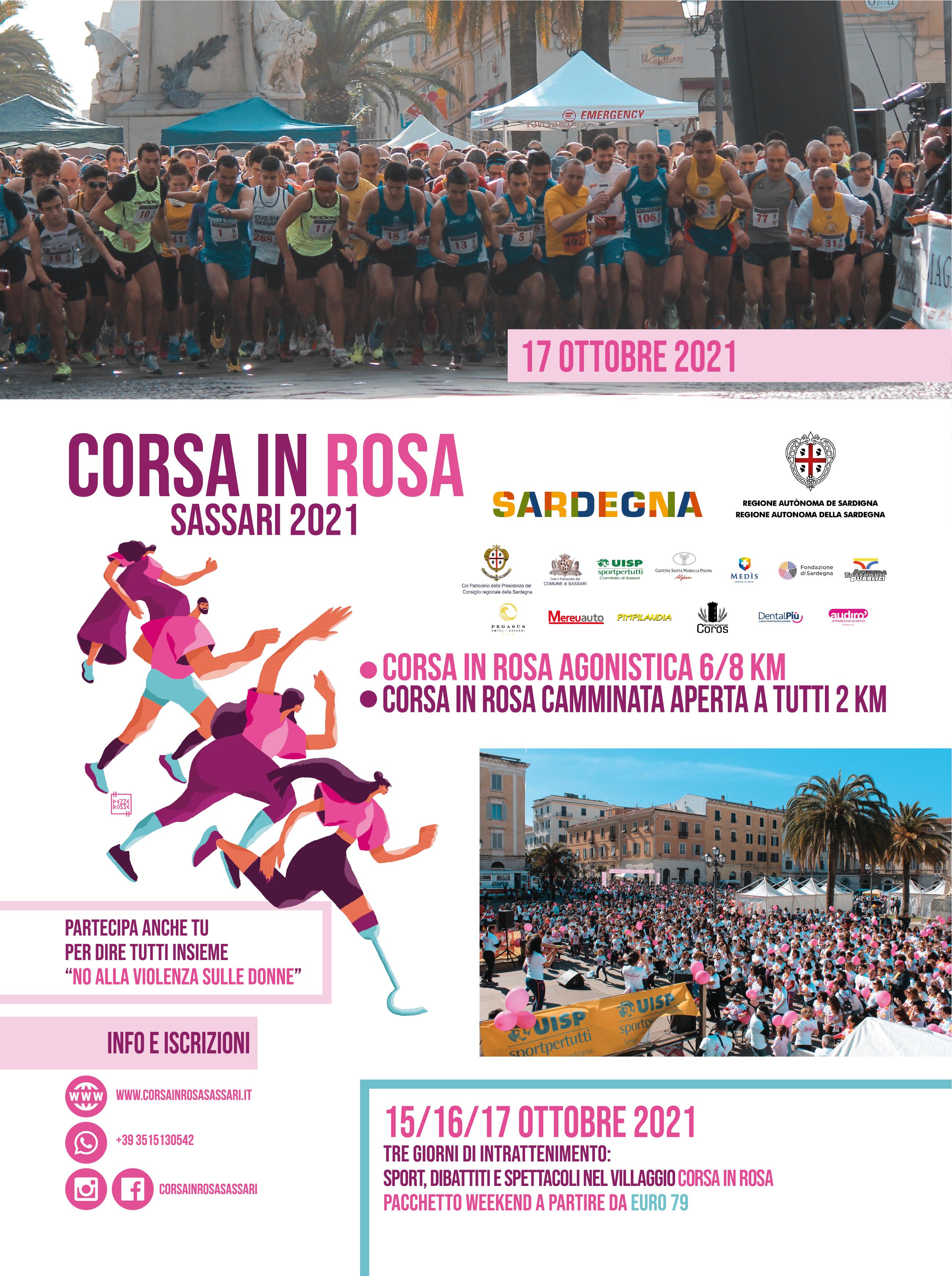 Corsa in Rosa, Sassari