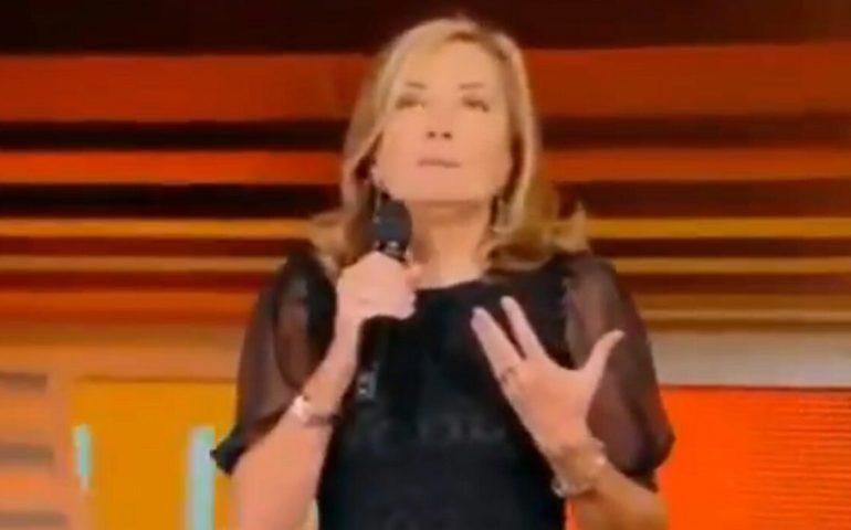 Femminicidi, Palombelli in tv pone domanda su 'donne esasperanti o aggressive': bufera social
