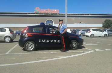 rapina auchan carabinieri
