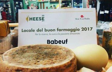 babeuf locale del buon formaggio 2017