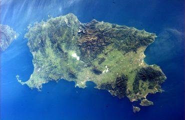 Sardegna vista dallo spazio - Foto di Paolo Nespoli