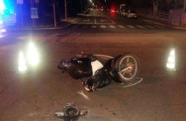 incidente scooter pirri