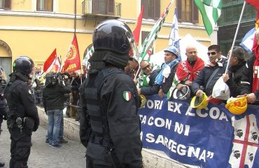 Protesta Alcoa