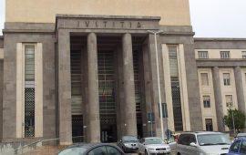 Il Palazzo di Giustizia di Cagliari