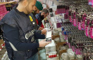 918 prodotti sequestrati dalla Guardia di Finanza a Capoterra