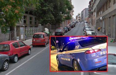 Furto aggravato auto via nebida cagliari polizia