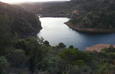 La diga di Corongiu
