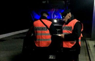 guida in stato di ebbrezza siniscola carabinieri patente
