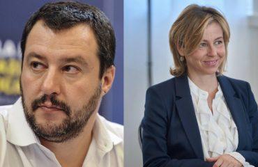 Matteo Salvini e Giulia Grillo