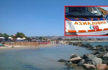 Giorgino spiaggia 118 ambulanza malore savina pili