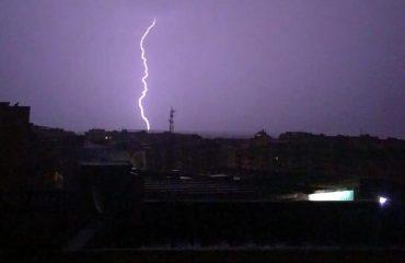 meteo temporale temporali piogge pioggia perturbazione cagliari sardegna