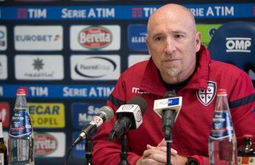 Maran in conferenza stampa prima di Udinese Cagliari