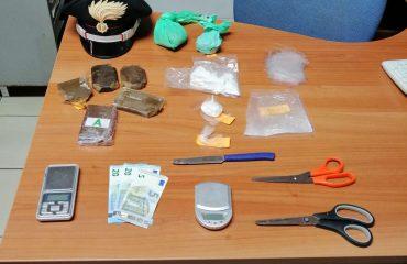 Droga sequestrata a un minorenne a Cagliari