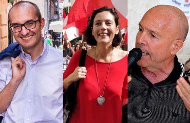 Paolo Truzzu, Francesca Ghirra e Angelo Cremone