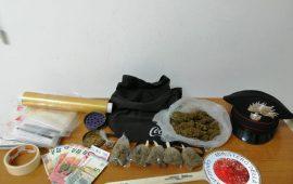La cannabis sequestrata a Settimo dai carabinieri