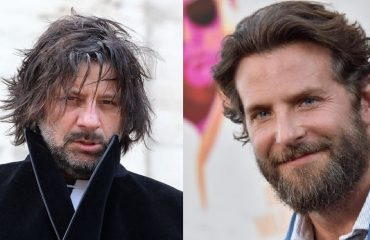 Christian Iansante a sinistra, Bradley Cooper a destra