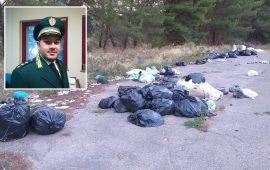 Discarica abusiva di rifiuti a Sestu