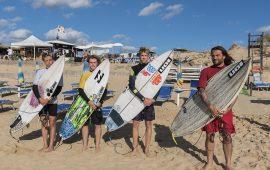 I finalisti del Didobeach surf di Buggerru