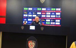 Mister Maran, conferenza stampa Sassuolo Cagliari