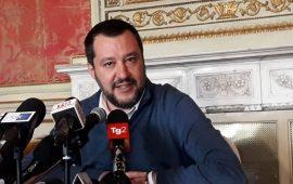 Matteo Salvini a Cagliari
