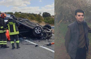 Gavino Bulla, il 26enne di Bortigali morto nell'incidente sulla 129 al bivio per Bolotana